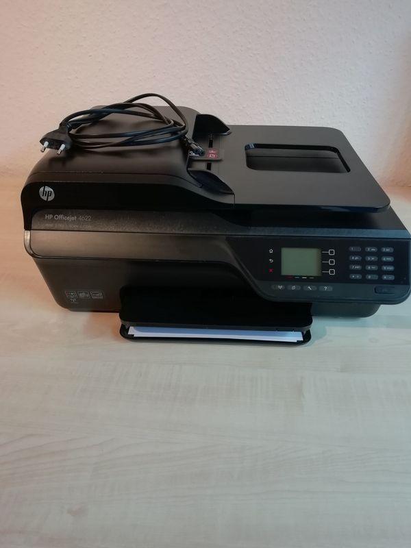 HP Officejet 4622 - Scanner