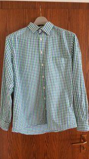 Langarm-Herrenhemd der Marke LUCIANO