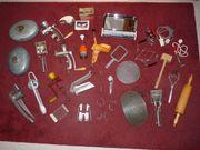 alte Küchengeräte Haushaltsgeräte diverse Sammlung