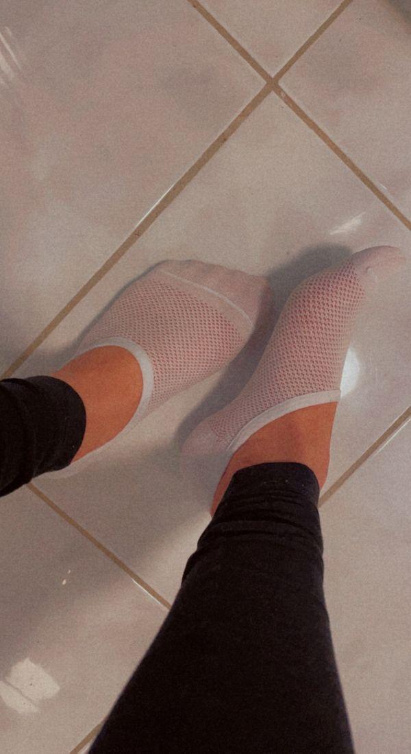 Getragene Socken und mehr