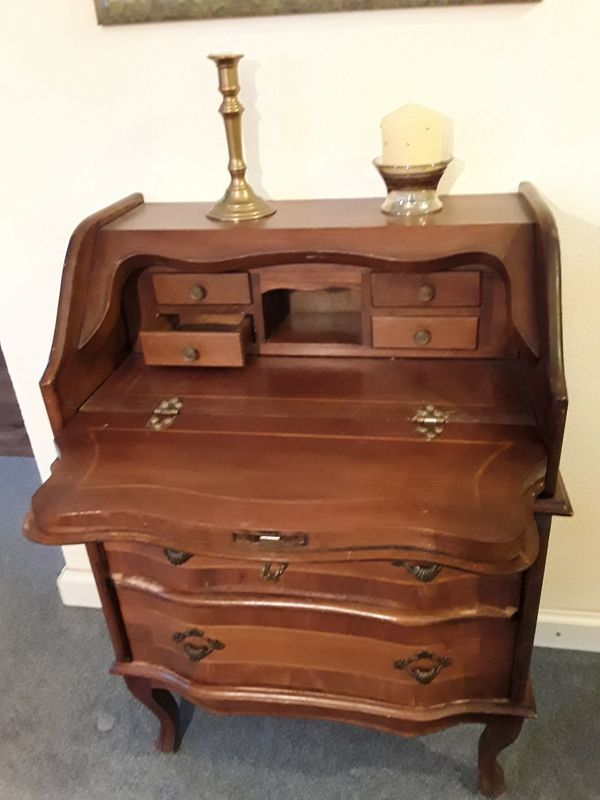 Antiker Sekretär Nußbaum In Mauer Sonstige Möbel Antiquarisch