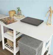 Neuwertiger Schreibtisch weiß - 0 Gebrauchsspuren