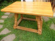 Jogltisch Bauerntisch mit massiver Edelhartholzplatte