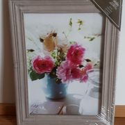 Bild Blumen gedruckt