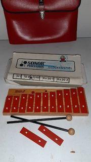 Sonor Percussion Glockenspiel G10 guter