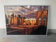 Schönes Gemälde mit Rahmen
