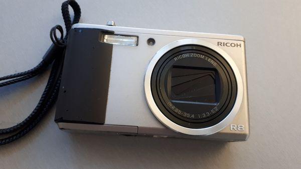 Digital RICOH R8 gebraucht - funktionstüchtig