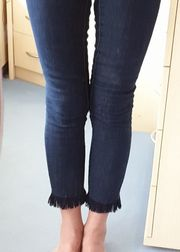 Jeans Skinny-Jeans Gr 36 Strech