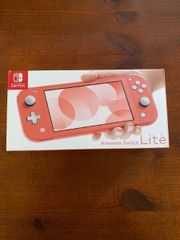 Nintendo Switch Lite Koralle Neu
