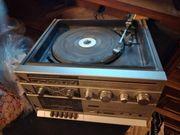 alter radio plattenspieler nur an
