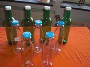 9 Saftflaschen