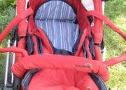 Teutonia Mistral Kinderwagen rot mit