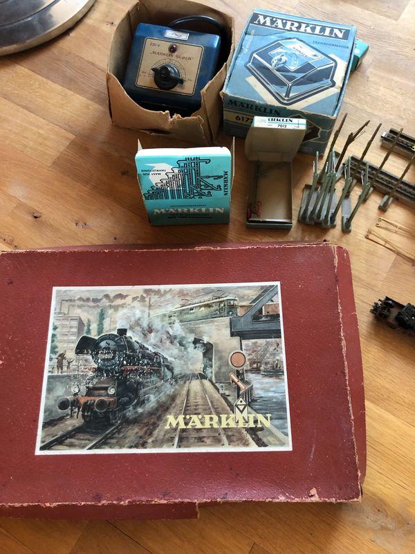 Märklin Eisenbahn komplett