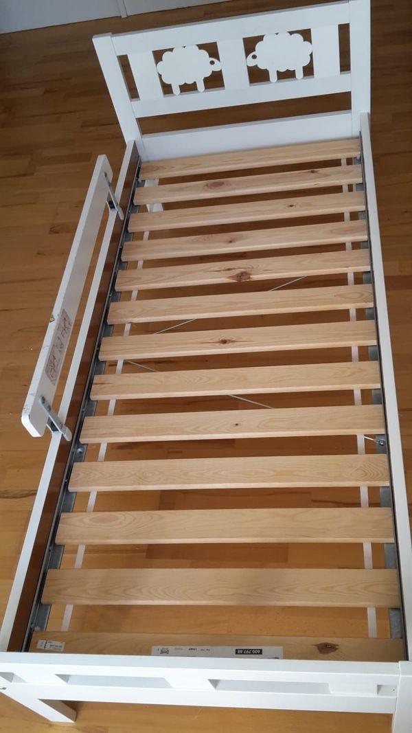 2 X Ikea Kinderbett Kritter 160x70 Cm Mit Lattenrost