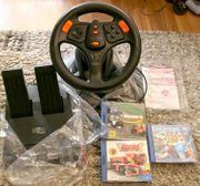 Lenkrad V3fx Dreamcast Lenkrad 3