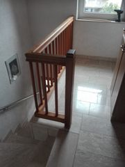 Echtholz Treppen Geländer Nieschenabschlüße Handläufe