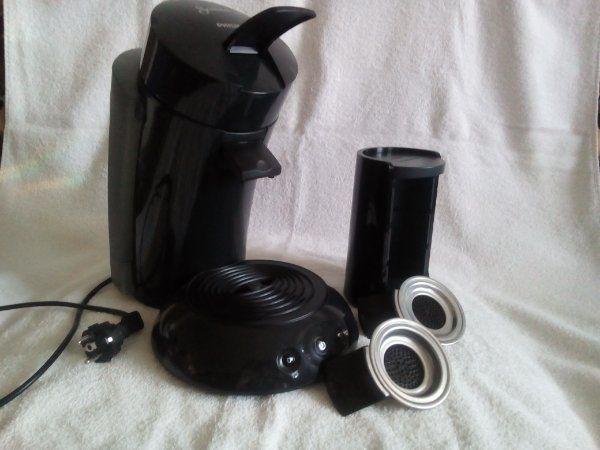 Philips Senseo Kaffeemaschine mit Zubehör