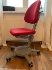 Roter Moll Schreibtischstuhl