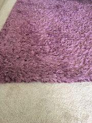 Teppich Hochflor Lila 1 40