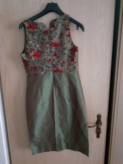 Damenkleid bestickt Top Zustand