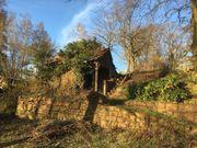 Gartengrundstück mit Hütte am Südhang -