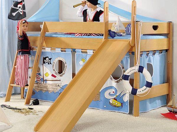 Paidi Varietta Spielbett mit Rutsche