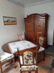 Möbel Alte mit Tisch Stühle