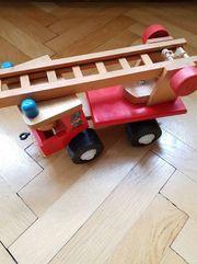Feuerwehr Auto Holz Spielzeug