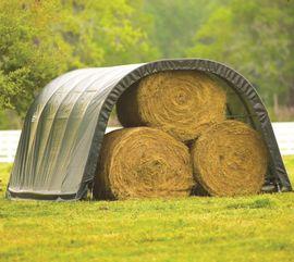 Bild 4 - Weidezelt und Unterstand als Wetterschutz - Neumünster