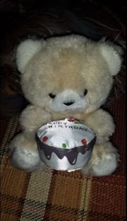 Teddy Bär Geburtstags Teddy Bär