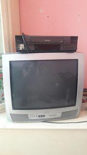 Philips Fernseher inklusive Videorekorder und