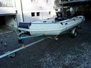 Schlauchboot Yamaha Außenborder Zweitakt Trailer