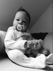 Realborn Puppe Landon awake