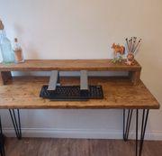 Esstisch Arbeitstisch Küchentisch Altholz vintage