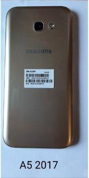 Samsung Galaxy A5 2017 goldfarbig