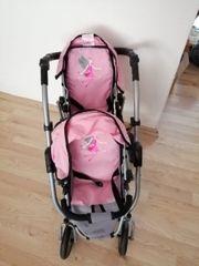 Zwillingswagen für Puppen