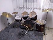 Schlagzeugset Platin