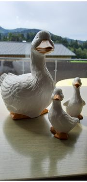 Entenfamilie Keramik Handgemacht