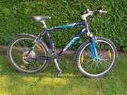 Mountainbike MTB Scott blau