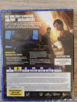 PlayStation 4 - the last of us remastered