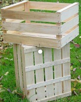 Sonstiger Gewerbebedarf - Apfelkiste Holzkiste Füllmenge 20 kg