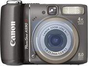 Canon PowerShot A590 Digitalkamera 8