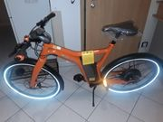 Smart e-bike orange Edition nagelneu