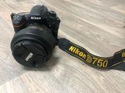 Nikon D750 DSLR Kamera inkl
