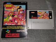 SNES The great Circus Mystery