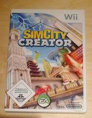 Wii Spiel CimCity Creator