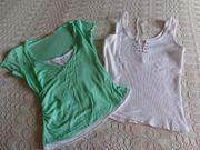 Mädchen Damen Shirt 2in1 Fishbone