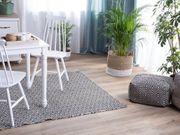 Outdoor Teppich schwarz 140 x