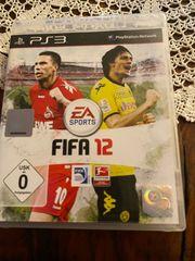 Ps3 spiel FIFA 12 und