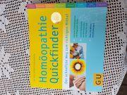 Neuwertiges modernes Buch Homöopathie Quickfinder
